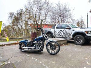 Breakout Airride Platinum Harley-Davidson