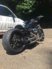 Open Belt Drive Custombike Harley-Davidson Schweiz
