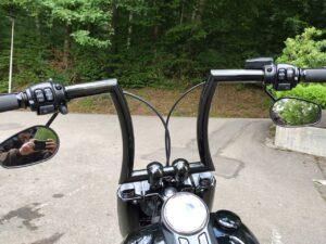 Harley-Davidson FLFBSANV Umbau Apehanger Tieferlegung Thundermax