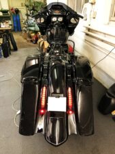 Harley-Davidson Road Glide Bagger Ricks Heck 26 Zoll DNA Rad