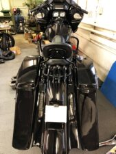 Black Road Glide Bagger