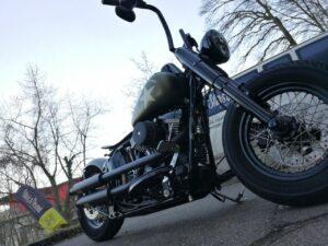 Harley-Davidson Slim S Bobber Umbau