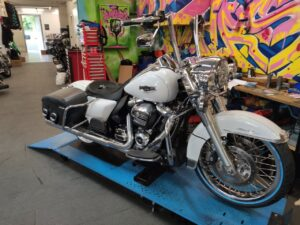 Road King Monkey Apehanger Big Wheel 21 Harley Davidson