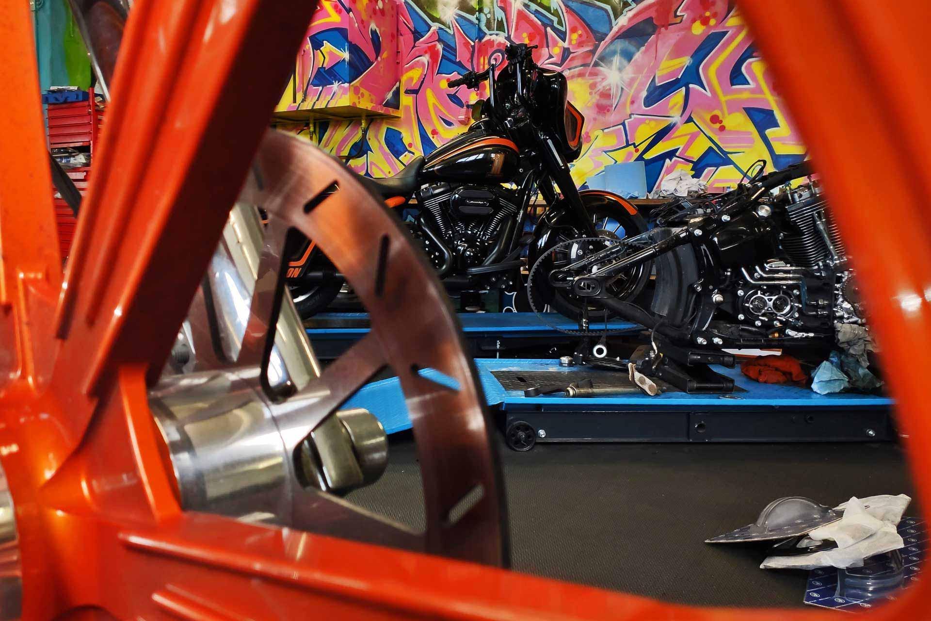 Umbau Reparatur MFK Service Harley-Davidson Schweiz