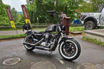 Harley-Davidson XL1200 X Lenkerumbau Tanklifting