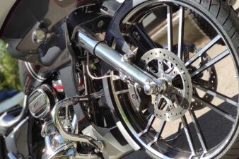 Stars and Chrome Custombikes Harley Bagger