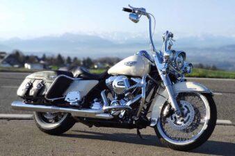 Road King Chicano Style Harley-Davidson BigWheel Apehanger Umbau