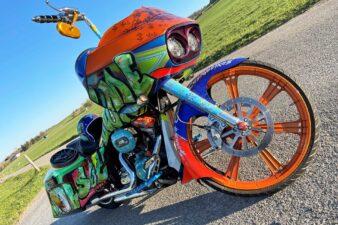 BigWheel Bagger Harley-Davidson Road Glide CVO