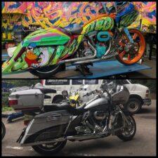 Color Nuke Bagger CVO Road Glide Harley-Davidson (3)