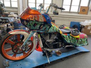 Color Nuke Bagger CVO Road Glide Harley-Davidson (8)